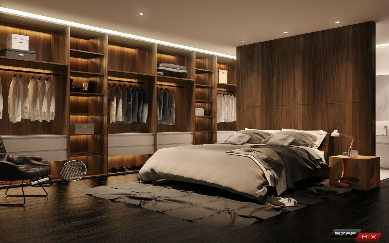 Szafa do sypialni na wymiar