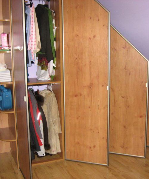 skosy poddasza szafy na wymiar 1