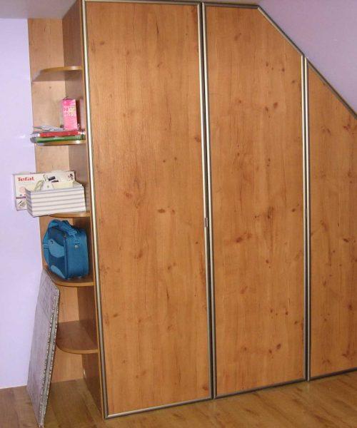 skosy poddasza szafy na wymiar 2