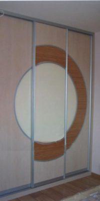 szafa na wymiar płyta z lustrem 2