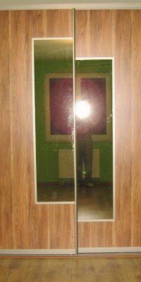 szafa na wymiar płyta z lustrem 27