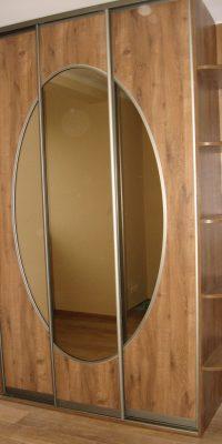 szafa na wymiar płyta z lustrem 6