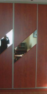szafa na wymiar płyta z lustrem 7