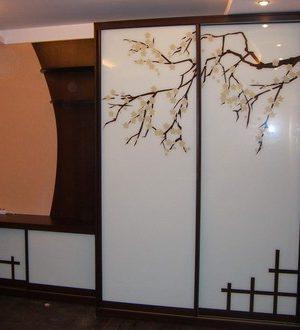 szafy na zamówienie z fototapetą 5